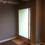 Custom Glass Door Interior