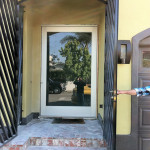 Custom Glass Door Exterior