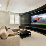 Rounded Home Theatre